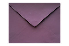 Purple envelope Stock Images