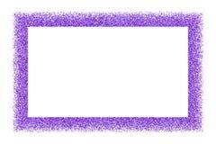 Purple explosion of confetti. Purple frame isolated on white background. Magenta explosion of  confetti.  Mauve flat design element. Vector illustration,eps 10 Royalty Free Stock Photos