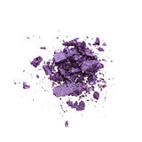 Purple eye shadow Stock Photo