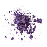 Purple eye shadow Stock Photography