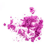 Purple eye shadow Royalty Free Stock Images
