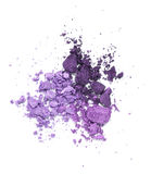 Purple eyeshadow Stock Photo