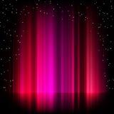 purple för eps för 8 morgonrodnadbakgrundsborealis Arkivfoton