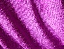 Purple fabric royalty free stock image