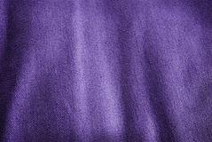 Purple fabric. Stock Image