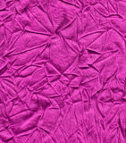 Purple fabric abstract. With wrinkles Stock Images