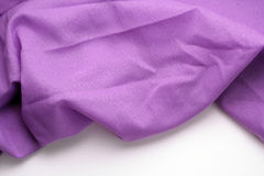 Purple fabric background Royalty Free Stock Image