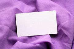 Purple fabric background Royalty Free Stock Photo
