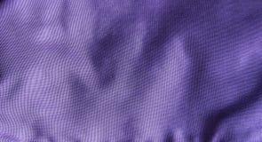 Purple fabric texture Stock Photography