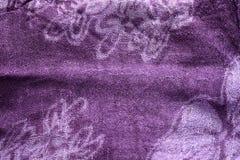 Purple fabric texture. Vintage and retro purple fabric texture royalty free stock photos