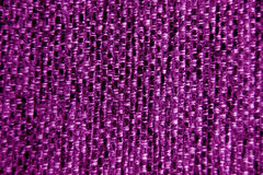 Purple fabric wallpaper background close-up Stock Images