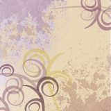 Purple faded swirl background Stock Photos
