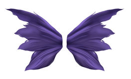 Purple Fae Wings stock illustration