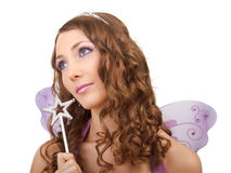 Purple fairy. Stock Images