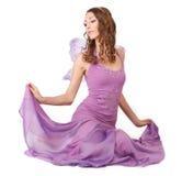 Purple Fairy. Stock Photos