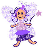 Purple Fairy Stock Photo