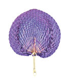 Purple fan Stock Photography