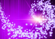 Purple fantasy Stock Image