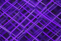 Purple Fence. Layers of fence Royalty Free Stock Images