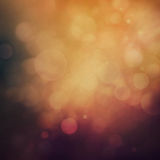 Purple Festive Christmas background. Elegant abstract background with bokeh defocused lights and stars Stock Images