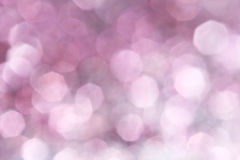 Purple festive Christmas elegant abstract background soft lights Stock Photos