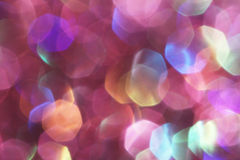 Purple festive Christmas elegant abstract background soft lights Stock Photography