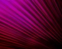 Purple Fiber Optic Fan. Purple fibers seem to shoot out in a fan shape pattern Royalty Free Stock Photography