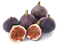 Purple fig Royalty Free Stock Photography