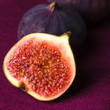 Purple figs Stock Images