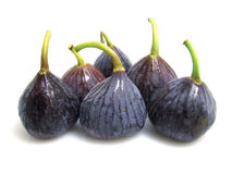 Purple Figs Stock Image