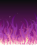 Purple Fire Stock Photos