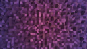 Purple flashing mosaic wallpaper stock video
