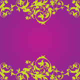 Purple Floaral Design Illustration Vector EPS File Stock Photography