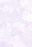 Purple Floral Background. A pale purple floral background Stock Image