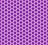 Purple floral background; vector seamless pattern. simple shapes. Violet flowers on white background; vector seamless pattern. simple geometric shapes Royalty Free Stock Photos