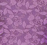 Purple Floral Lace Seamless Background. Royalty Free Stock Photos