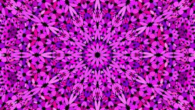 Purple floral mosaic mandala pattern wallpaper - symmetrical vector background graphic. Purple floral mosaic mandala pattern wallpaper - symmetrical abstract vector illustration