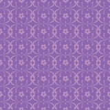 Purple Floral ornate seamless pattern. Vector purple seamless pattern background Royalty Free Stock Images