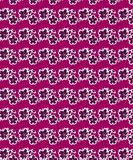 Purple Floral Seamless Pattern For Fabric Prints stock illustration