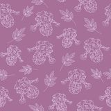 Purple floral texture Royalty Free Stock Image