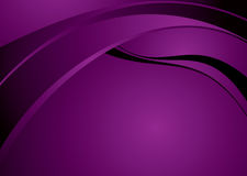 Purple flow glow Royalty Free Stock Image