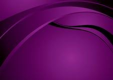 Purple flow glow Royalty Free Stock Image