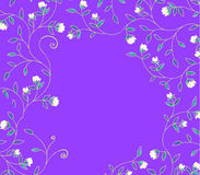 Purple flower background Stock Photos