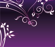 Purple flower decoration Royalty Free Stock Photography