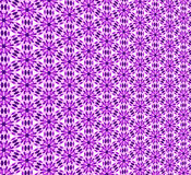 Purple flower wallpaper. Computer generated illustration of flower patterned wall covering stock illustration