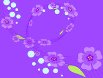 Purple flowers Royalty Free Stock Images