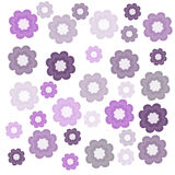 Purple flowers. Nice purple and silver flowers background Royalty Free Stock Image