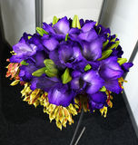 Purple Flowers Bouquet Royalty Free Stock Photo