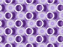 Purple Flowers On Purple Background. Background.Wa Royalty Free Stock Images