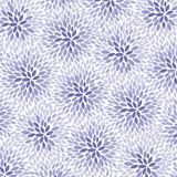 Purple Flowers Pattern - vector eps10. Purple Flowers - abstract background pattern - vector eps 10 Royalty Free Stock Images